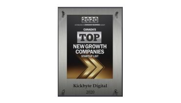 Kickbyte Digital Solutions - Award 5