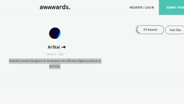 Artkai - Award 1