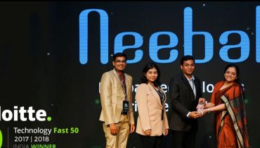 Neebal Technologies Pvt Ltd - Award 1