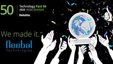 Neebal Technologies Pvt Ltd - Award 2