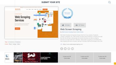 Web Screen Scraping - Award 1