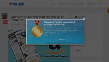 eStore Factory - Award 1