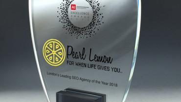 Pearl Lemon - Award 2
