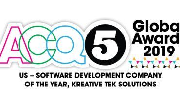 Kreative Tek Solutions - Award 2