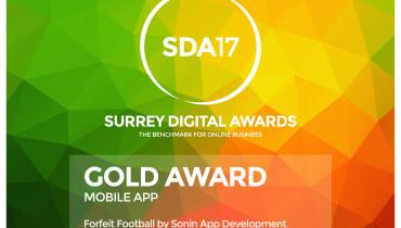 Sonin App Development - Award 2