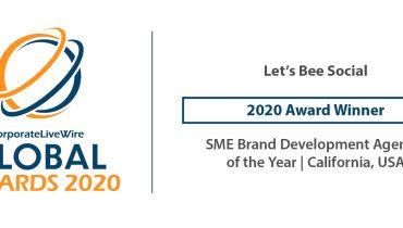 Let's Bee Social Digital Marketing - Award 2