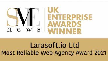 Larasoft.io Ltd - Award 1