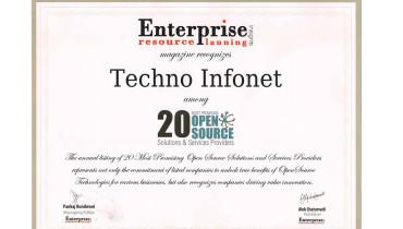 Techno Infonet - Award 1