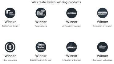Webcredible - Award 1
