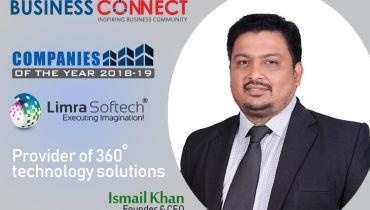 Limra Softech India Pvt Ltd - Award 1