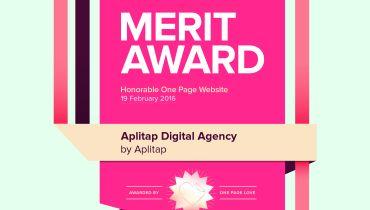 Aplitap - Award 6