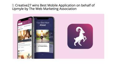 Creative27 - Award 1