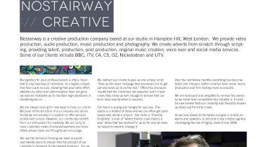 nostairway creative - Award 1