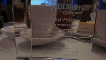 Crystal Pyramid Productions - Award 10