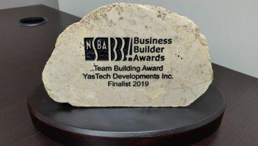 YasTech Developments - Award 1