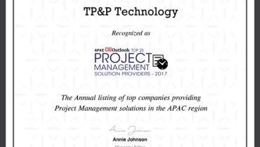TP&P Technology - Award 1
