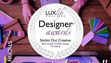 Stickin Out Creative - Award 1
