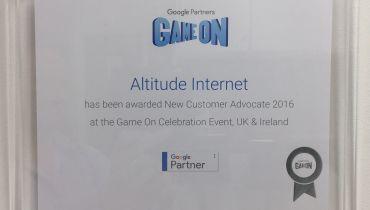 Altitude Internet - Award 1