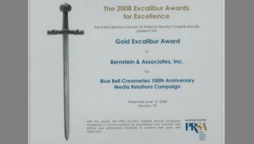 Bernstein & Associates, Inc. - Award 2