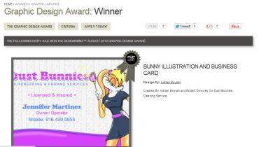 Adrian Graphics & Marketing - Award 1