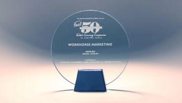 Workhorse Marketing - Award 1