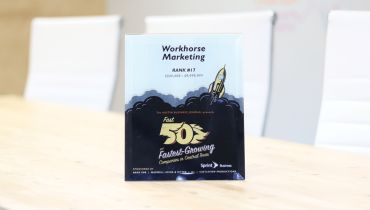 Workhorse Marketing - Award 3