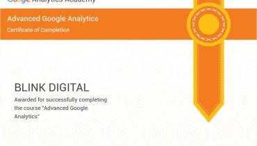 Blink Digital Consulting - Award 3