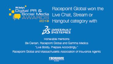 Racepoint Global - Award 1