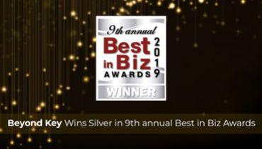BeyondKey Systems - Award 1