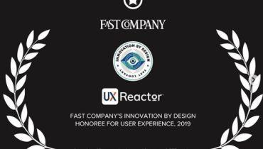 UXReactor - Award 1