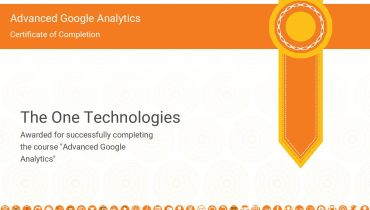 The One Technologies - Award 1