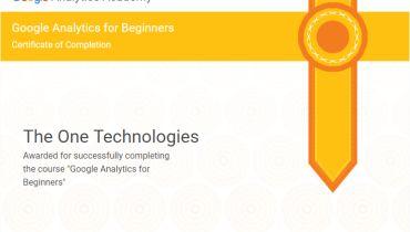 The One Technologies - Award 2