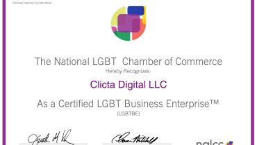 Clicta Digital Agency - Award 1