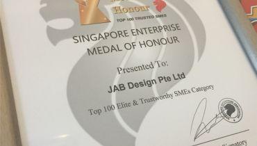 JAB Design Pte Ltd - Award 1