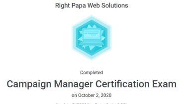 Rightpapa Web Solutions - Award 1