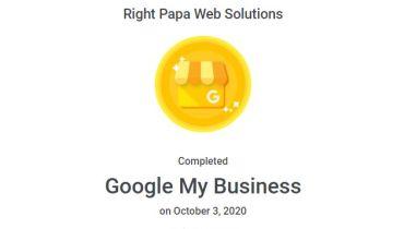 Rightpapa Web Solutions - Award 3