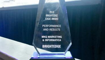 MKG Marketing - Award 1