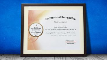 Yudiz Solutions Private Limited - Award 1