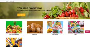 Grocer to Home e-commerce website