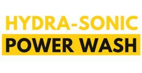 Hydra-Sonic Power Wash