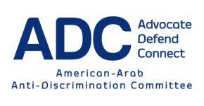 American-Arab Anti-Discrimination Committee