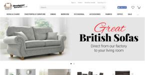Designer Sofas 4U – ecommerce furniture store