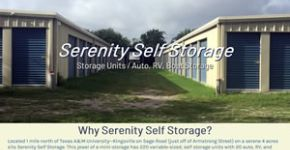 Serenity Self Storage