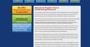 Kingston Truck Training