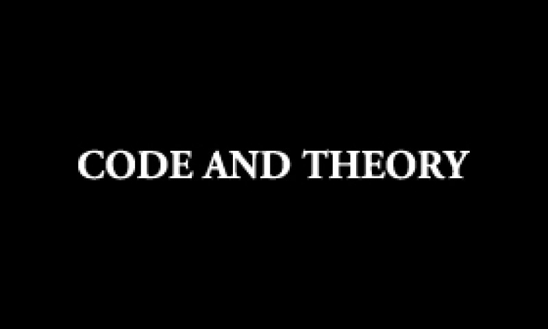 Code and Theory - Photo - 3