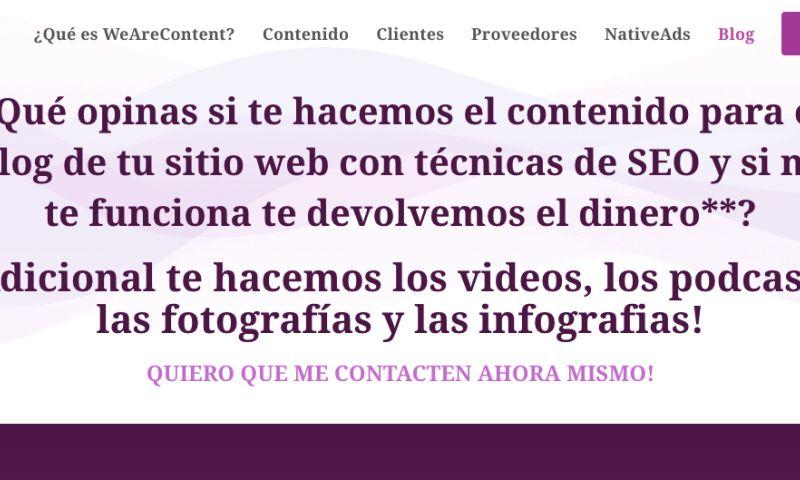 WeAreContent - Photo - 1