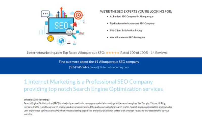 1 Internet Marketing - Photo - 3