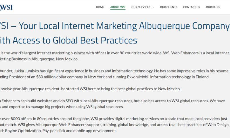 WSI Web Enhancers - Photo - 2