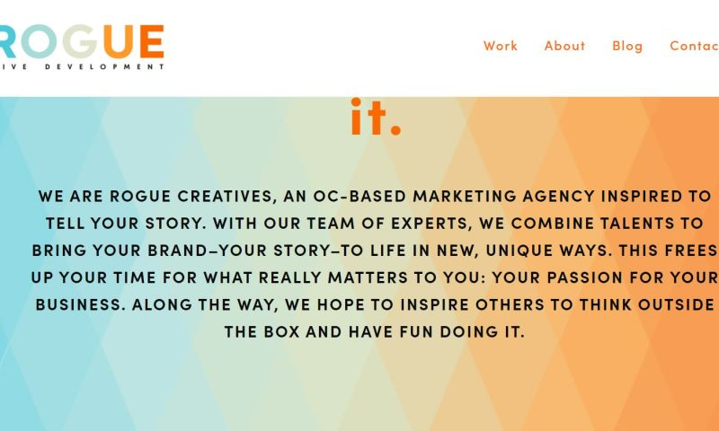 Rogue Creative Development - Photo - 2