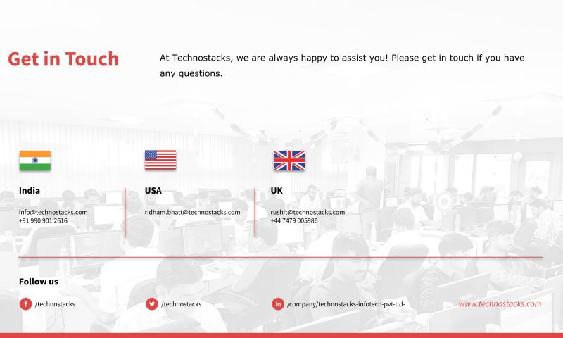 Technostacks Infotech Pvt. Ltd. - Photo - 3